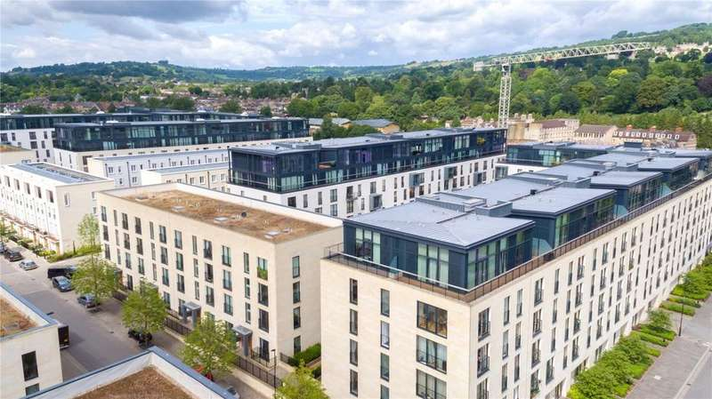 2 Bedrooms Penthouse Flat for sale in Penthouse 6030, Leopold House, Bath Riverside, Bath, BA2