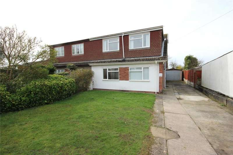 4 Bedrooms Semi Detached House for sale in Stoke Lane, Stoke Lodge, Bristol, BS34