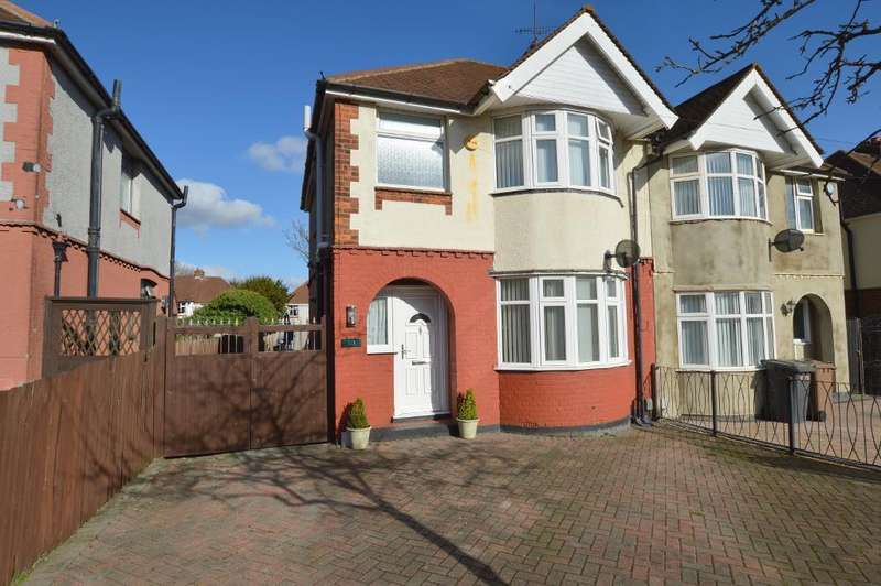 3 Bedrooms Semi Detached House for sale in Stanford Road, Round Green, Luton, LU2 0PZ