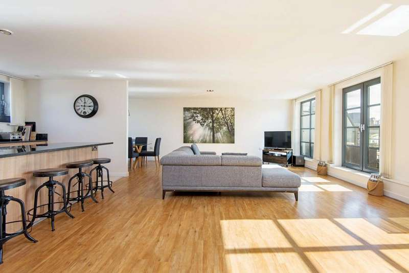 3 Bedrooms Penthouse Flat for sale in Zenith House, E14