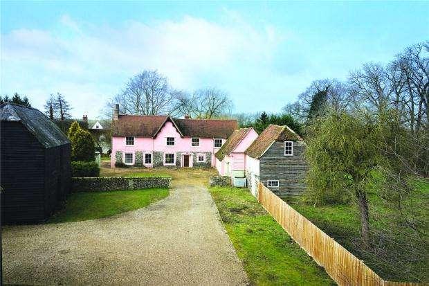 5 Bedrooms Detached House for sale in Mill Lane, Hinxton, Saffron Walden, Cambridgeshire