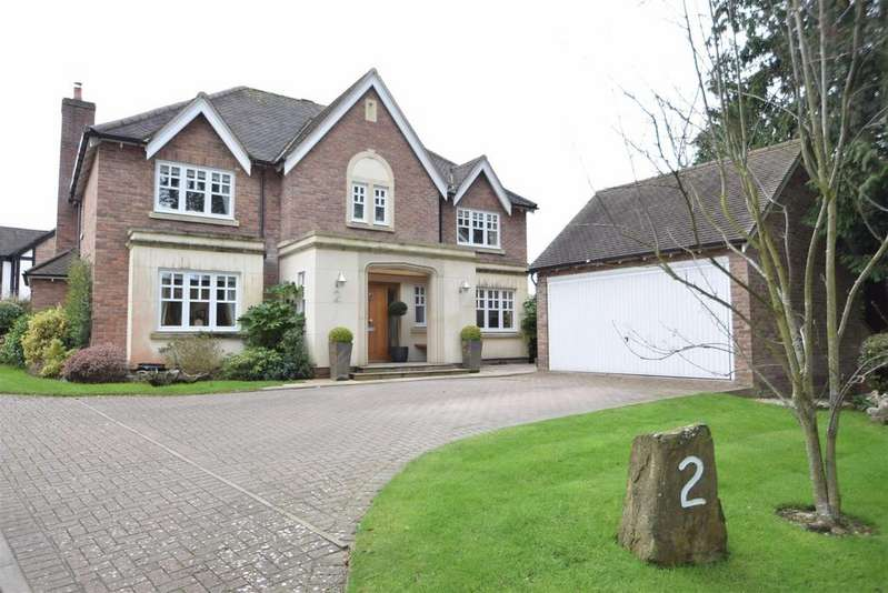 4 Bedrooms Detached House for sale in 2 White House Gardens, Church Stretton, SY6 7EE