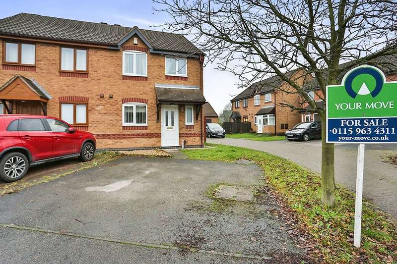 3 Bedrooms Semi Detached House for sale in Webb Street, Newstead Village, Nottingham, NG15