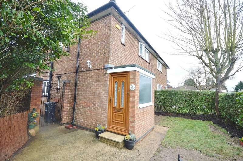 2 Bedrooms Semi Detached House for sale in Goodrich Close, Watford, Hertfordshire, WD25