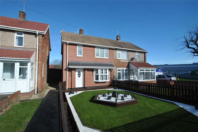 2 Bedrooms Semi Detached House for sale in Shakespeare Street, Seaham, Co. Durham, SR7