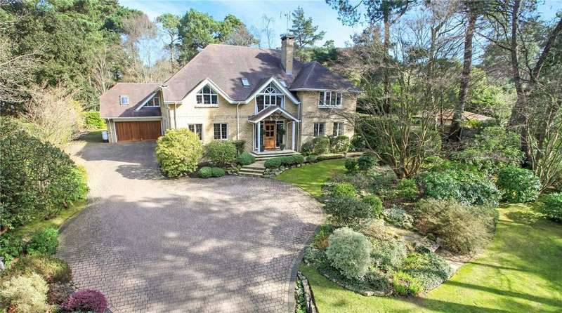 5 Bedrooms Detached House for sale in Bury Road, Branksome Park, Poole, Dorset, BH13