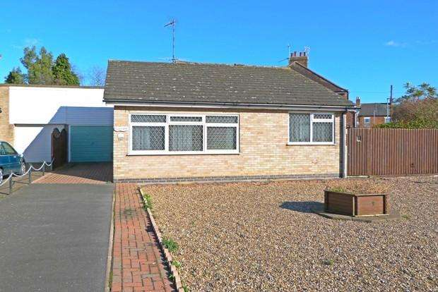 2 Bedrooms Bungalow for sale in Brookfield Avenue, Syston, Leicester, LE7