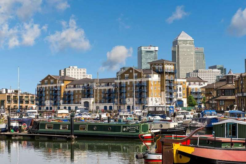 2 Bedrooms Apartment Flat for sale in Osprey House, E14