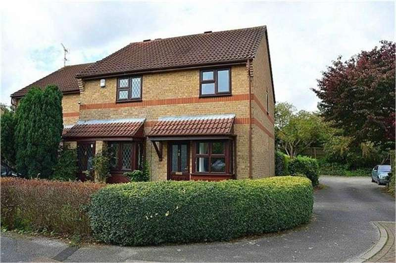 2 Bedrooms End Of Terrace House for sale in Lancaster Way, ABBOTS LANGLEY, Hertfordshire