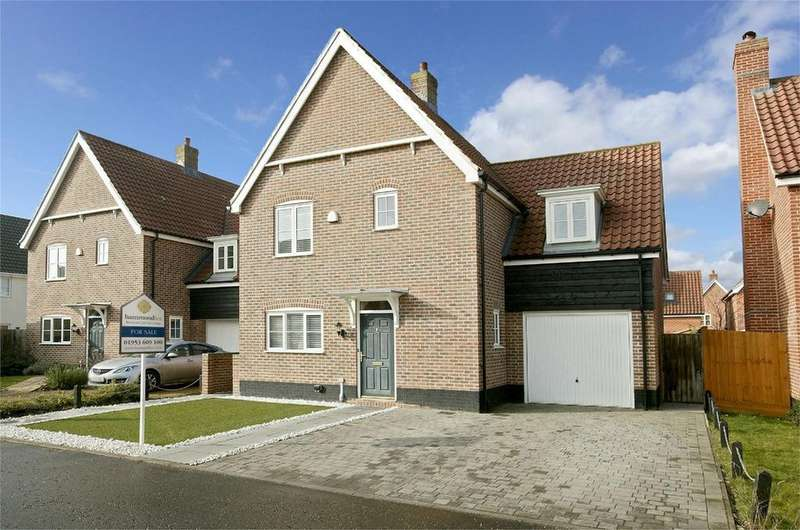 3 Bedrooms Detached House for sale in Oatfield Chase, Mulbarton, Norwich, Norfolk