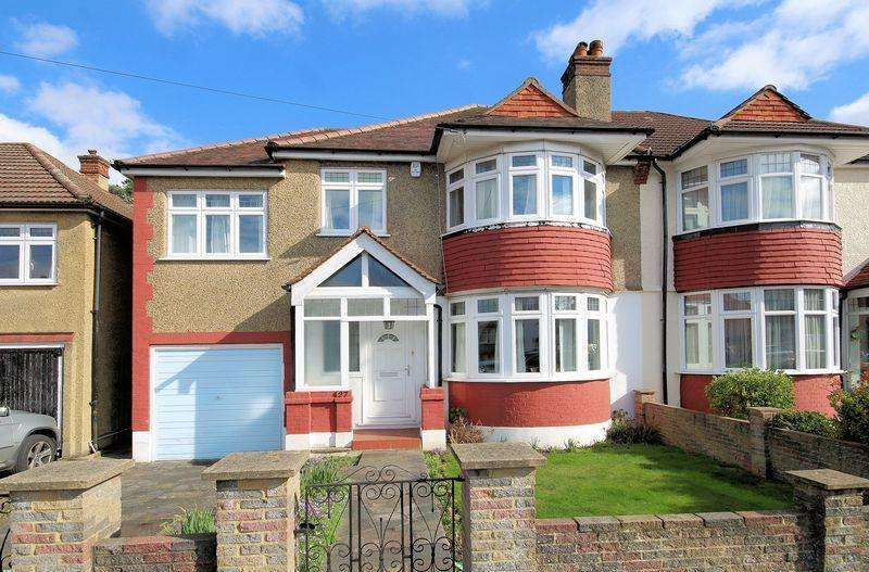 4 Bedrooms Semi Detached House for sale in Oak Avenue, Shirley