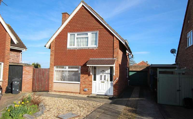3 Bedrooms Detached House for sale in Tetton Close, Bridgwater TA6