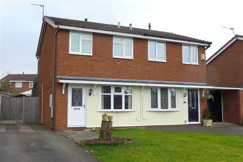 2 Bedrooms Semi Detached House for sale in Cromer Drive, Coppenhall, Crewe