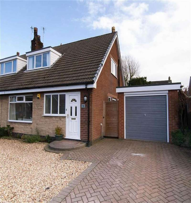 3 Bedrooms Semi Detached House for sale in Brookfield, Mawdesley, L40