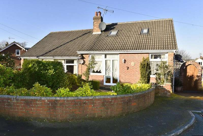 4 Bedrooms Semi Detached Bungalow for sale in Hill Top Rise, Harrogate