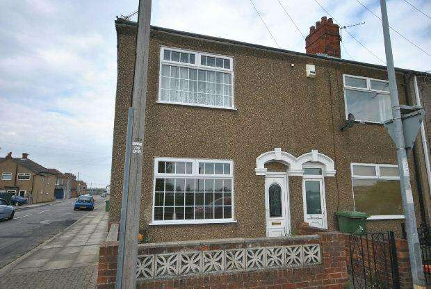3 Bedrooms End Of Terrace House for sale in Newhaven Terrace, GRIMSBY