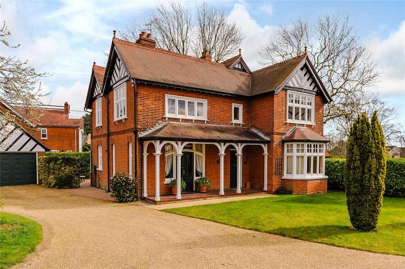 4 Bedrooms Detached House for sale in Church Road, Wickham Bishops, Witham, Essex