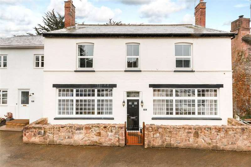 5 Bedrooms Semi Detached House for sale in The Bury, Thorverton, Exeter, Devon