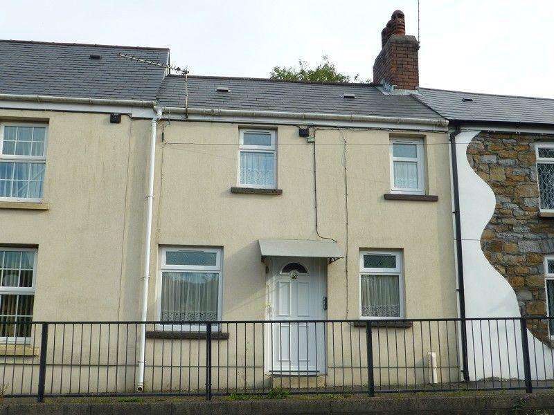2 Bedrooms Terraced House for sale in Graig Road, Gwaun Cae Gurwen, Ammanford, Carmarthenshire.