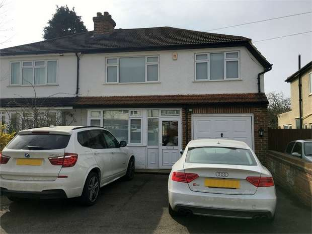 4 Bedrooms Semi Detached House for sale in Worthfield Close, Ewell