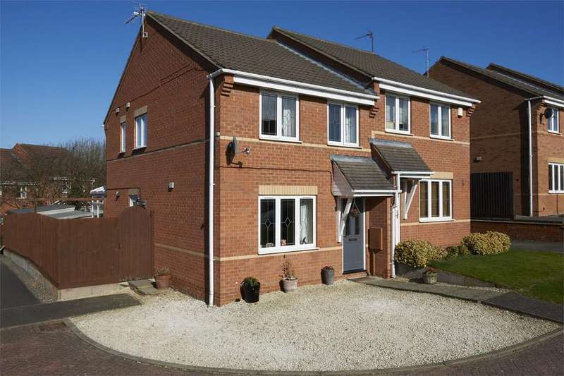 3 Bedrooms End Of Terrace House for sale in Shelland Close, Market Harborough, Leicestershire
