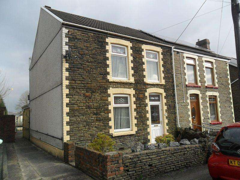 3 Bedrooms Semi Detached House for sale in Francis Street, Pontardawe, Swansea.
