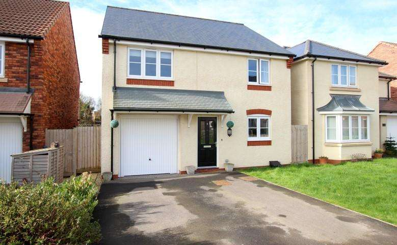 4 Bedrooms Detached House for sale in Barberry Drive, Bridgwater TA5