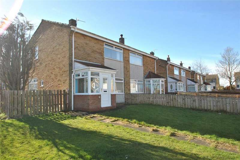 2 Bedrooms Semi Detached House for sale in Short Grove, Murton, Seaham, Co.Durham, SR7
