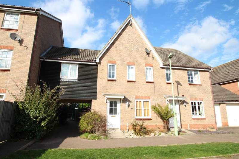 4 Bedrooms Terraced House for sale in Llewellyn Drift, Kesgrave, Ipswich