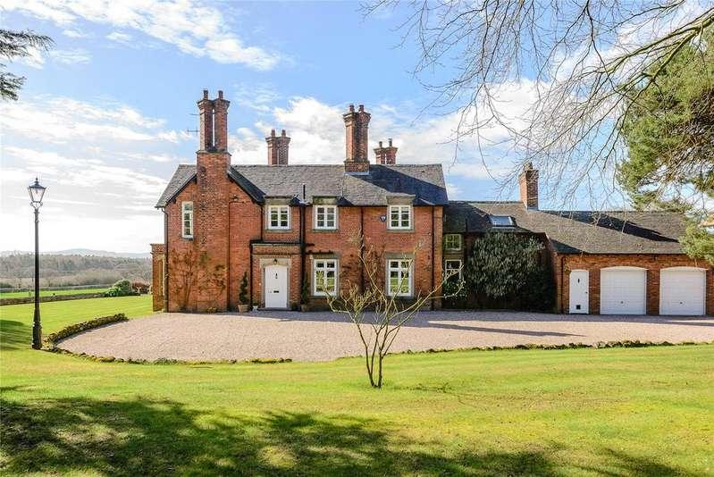 5 Bedrooms Detached House for sale in Preston Gubbals, Shrewsbury, Shropshire