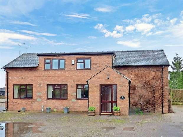 3 Bedrooms Barn Conversion Character Property for sale in Wrenbury Wood, Wrenbury, Nantwich, Cheshire