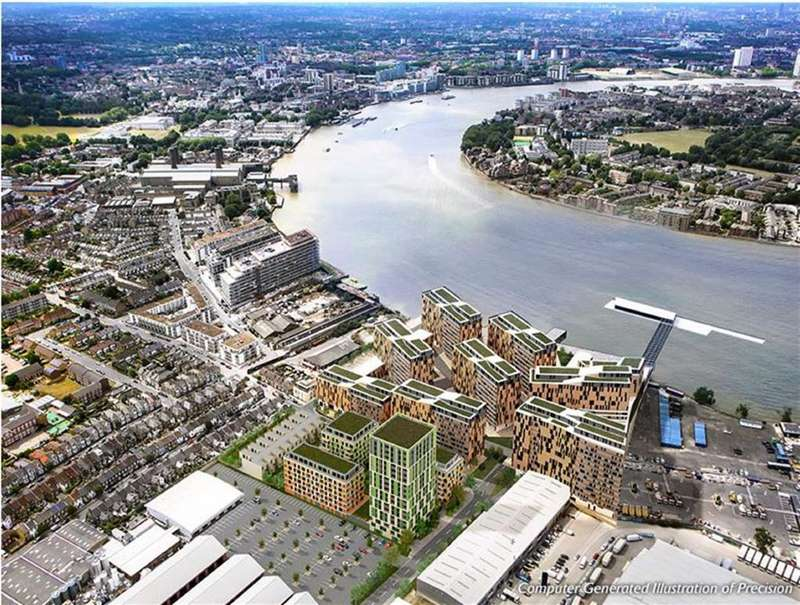 2 Bedrooms Flat for sale in Alexander House, North Greenwich, London, SE10