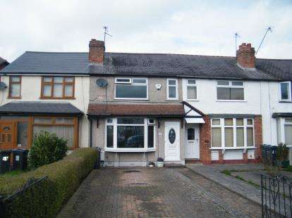 2 Bedrooms Terraced House for sale in Redditch Road, Kings Norton, Birmingham, West Midlands