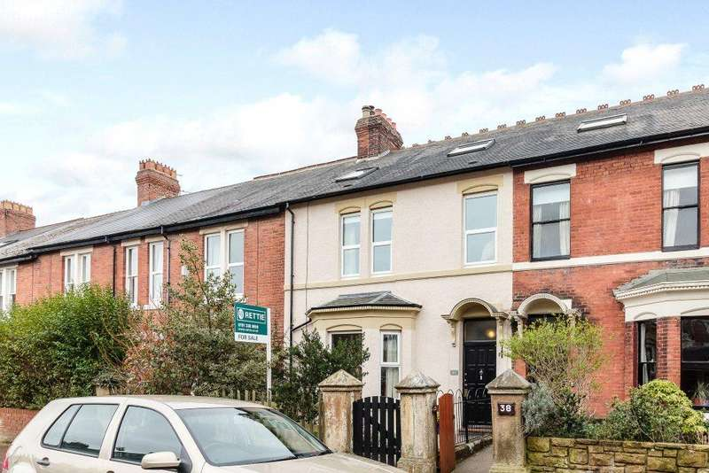 5 Bedrooms Terraced House for sale in Rothbury Terrace, Heaton, Newcastle Upon Tyne, Tyne Wear