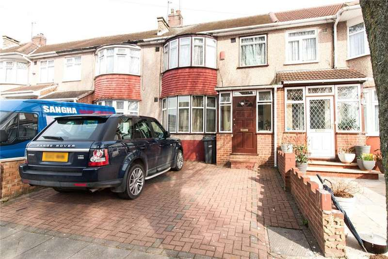 3 Bedrooms Terraced House for sale in Westbury Avenue, Southall, UB1