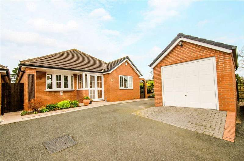 3 Bedrooms Detached Bungalow for sale in Pridzor Road, Droitwich, Worcestershire, WR9