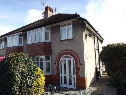 3 Bedrooms Semi Detached House for sale in Nant Y Glyn Road, Colwyn Bay, Conwy, LL29