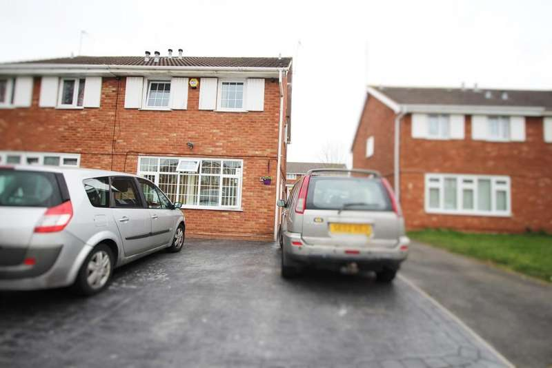 3 Bedrooms Semi Detached House for sale in Keldy Close, Wolverhampton