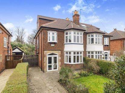 4 Bedrooms Semi Detached House for sale in Peveril Road, Beeston, Nottingham, Nottinghamshire