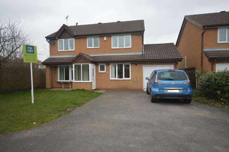 4 Bedrooms Detached House for rent in Mulberry Close, West Bridgford