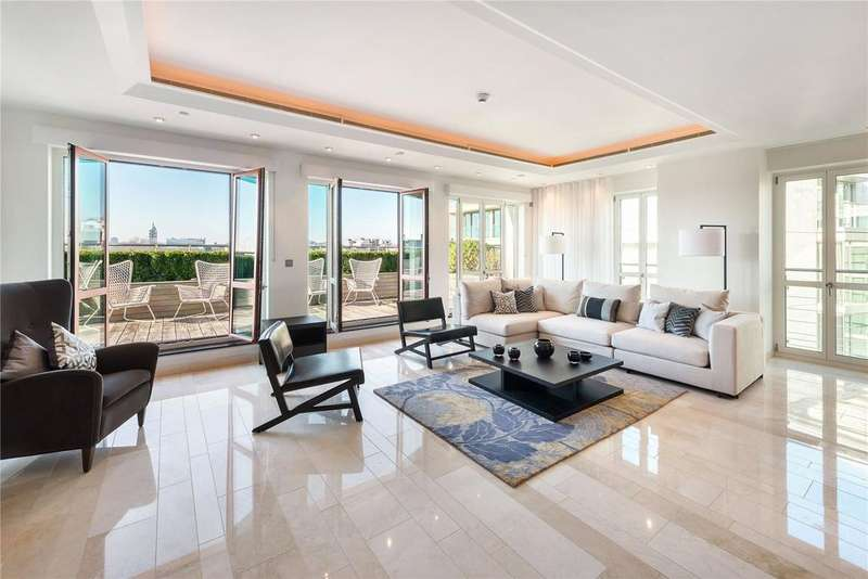 4 Bedrooms Penthouse Flat for sale in Lancelot Place, London, SW7