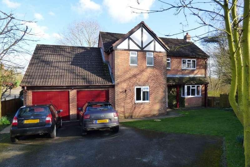 4 Bedrooms Detached House for sale in Glebe Close, Doveridge, Ashbourne, Derbyshire, DE6 5NY