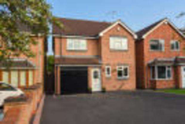 4 Bedrooms Detached House for sale in Springwell Lane, Whetstone, Leicester, LE8