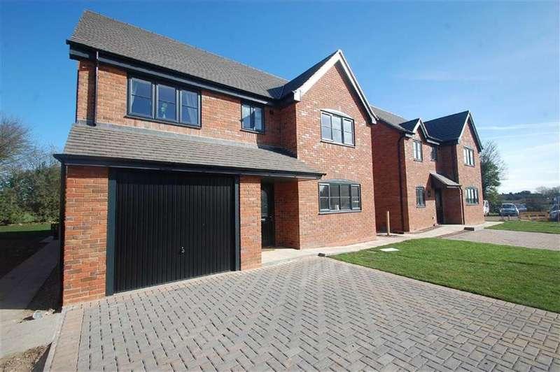 4 Bedrooms Detached House for sale in Farriers Court, Cliff Crescent, Ellerdine, Shrewsbury