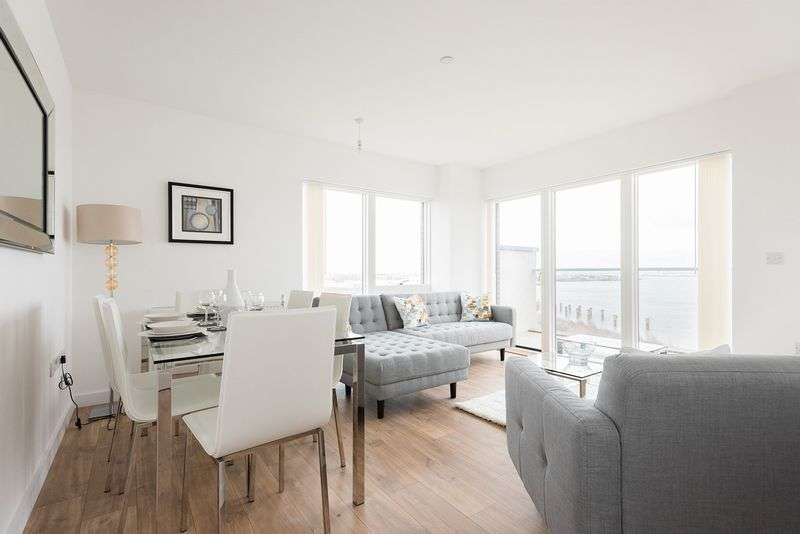 3 Bedrooms Flat for sale in Bawley Court, Magellan Boulevard, London
