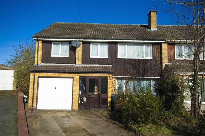 5 Bedrooms Semi Detached House for sale in Cedar Close, Bayston Hill, Shrewsbury, Shropshire