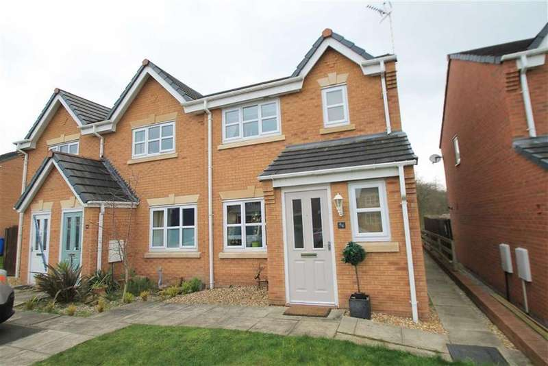 3 Bedrooms Terraced House for sale in Gorse Close, Ruabon, Wrexham