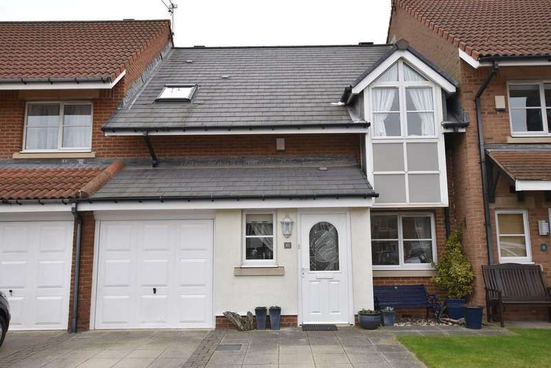 3 Bedrooms Terraced House for sale in Hallgarth Court, North Haven