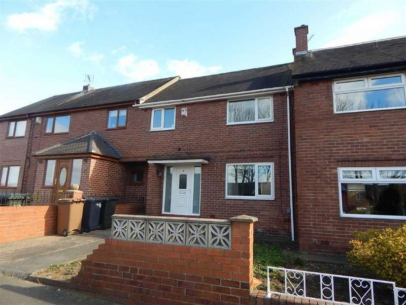 3 Bedrooms Terraced House for sale in Ashbrooke Gardens, Rosehill, Wallsend, NE28