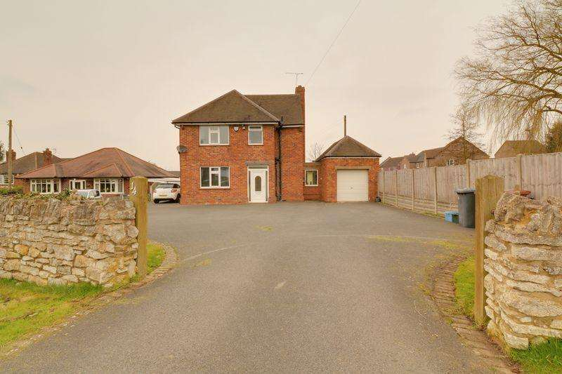 3 Bedrooms Detached House for sale in Spa Hill, Kirton Lindsey